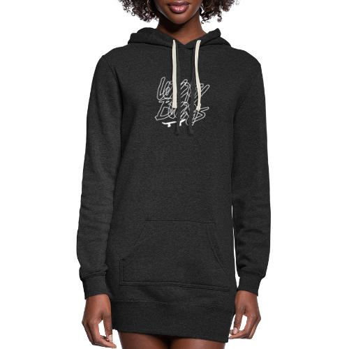 Loyalty Boards White Font With Board - Women's Hoodie Dress
