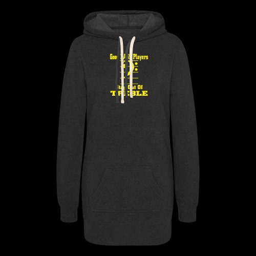 bass players stay out of treble - Women's Hoodie Dress