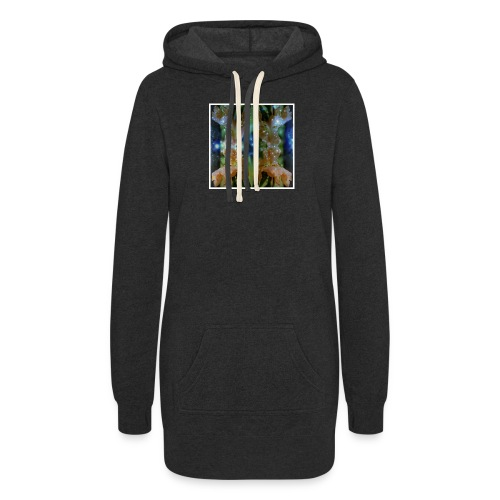 Abstract universe - Women's Hoodie Dress