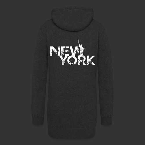 New York (Flexi Print) - Women's Hoodie Dress