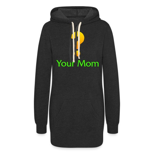 Your Mom Quest ? World of Warcraft - Women's Hoodie Dress