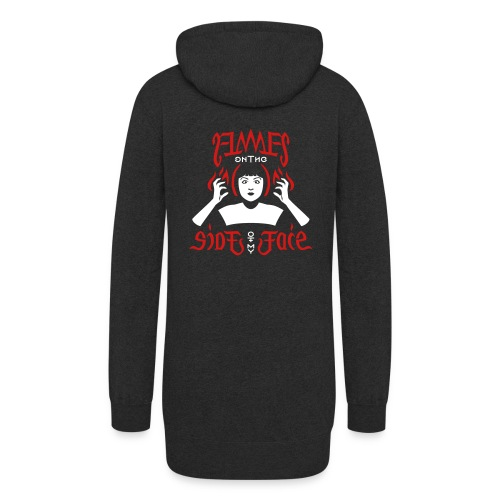 Flames on the Sides of my Face - Women's Hoodie Dress
