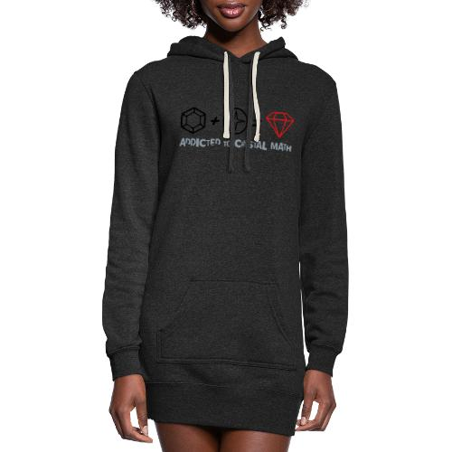Addicted to Crystal Math - Women's Hoodie Dress