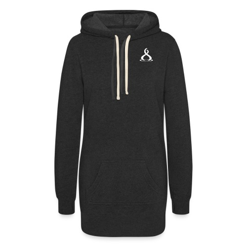 Fire Cryptocurreny Icon White - Women's Hoodie Dress