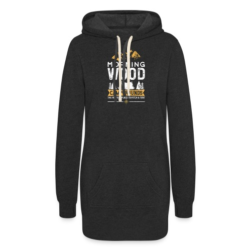 Morning Wood Campgrounds The Perfect Place - Women's Hoodie Dress
