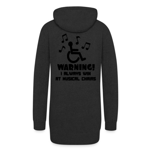 Wheelchair users always win at musical chairs - Women's Hoodie Dress