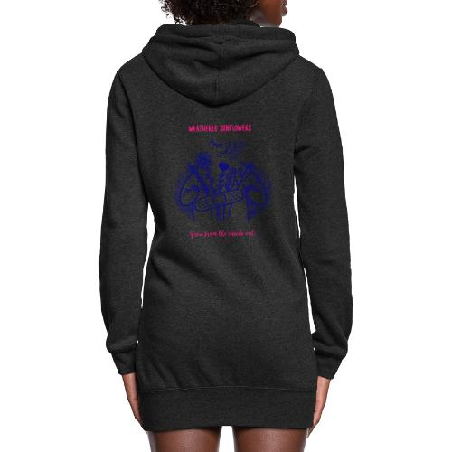Weathered Sunflowers Grow From The Inside Out - Women's Hoodie Dress