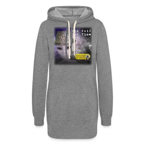 Tin Foil Hat Time (Space) - Women's Hoodie Dress