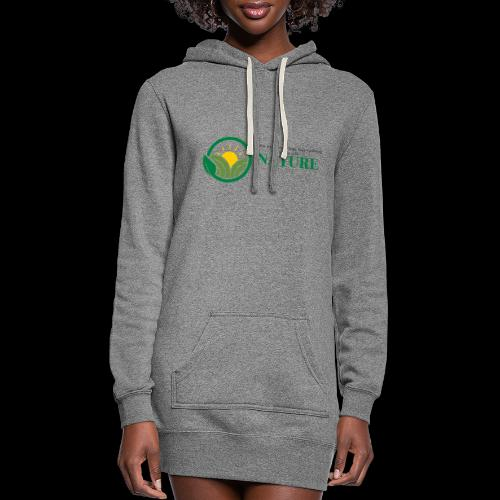 What is the NATURE of NATURE? It's MANUFACTURED! - Women's Hoodie Dress