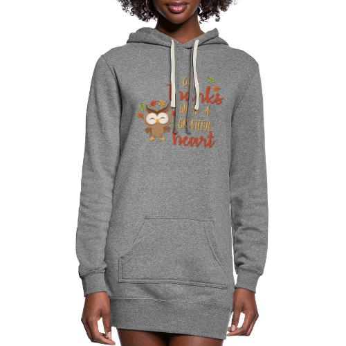 Give Thanks - Women's Hoodie Dress