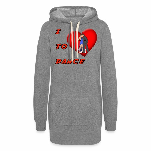 I Heart Dance - Women's Hoodie Dress