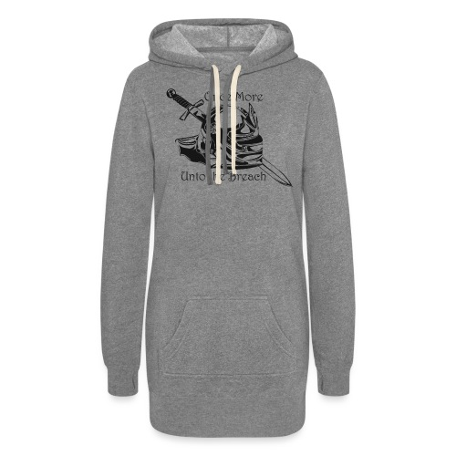 Once More... Unto the Breach Medieval T-shirt - Women's Hoodie Dress