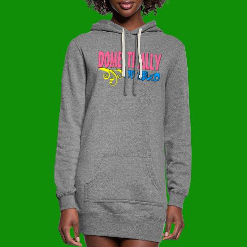 DOMESTICALLY DISABLED - Women's Hoodie Dress