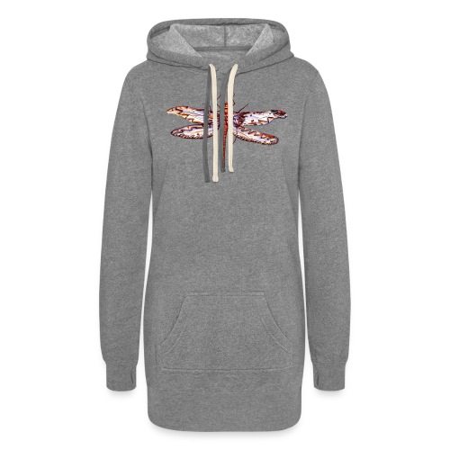 Dragonfly red - Women's Hoodie Dress
