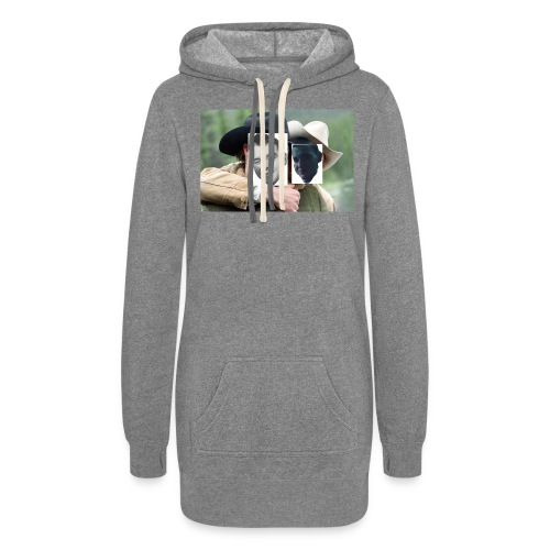 Darien and Curtis Camping Buddies - Women's Hoodie Dress