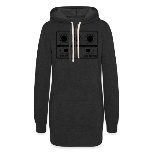 Synth Filter with Knobs - Women's Hoodie Dress