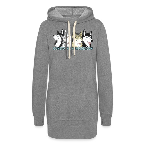 Siberian Husky Snow Dogs - Women's Hoodie Dress
