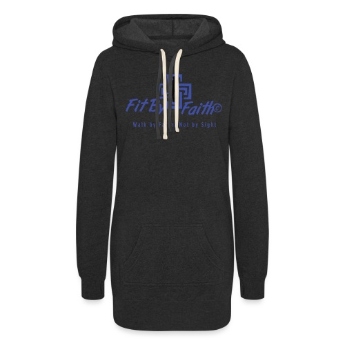 FitbyFaith back png - Women's Hoodie Dress