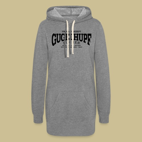 Gugelhupf (black) - Women's Hoodie Dress