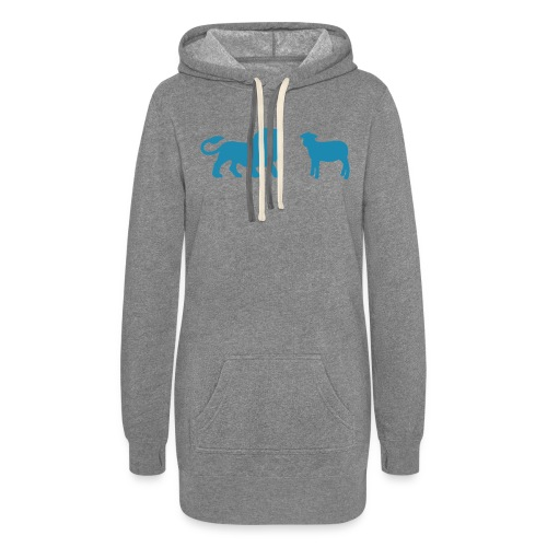 Lion and the Lamb - Women's Hoodie Dress