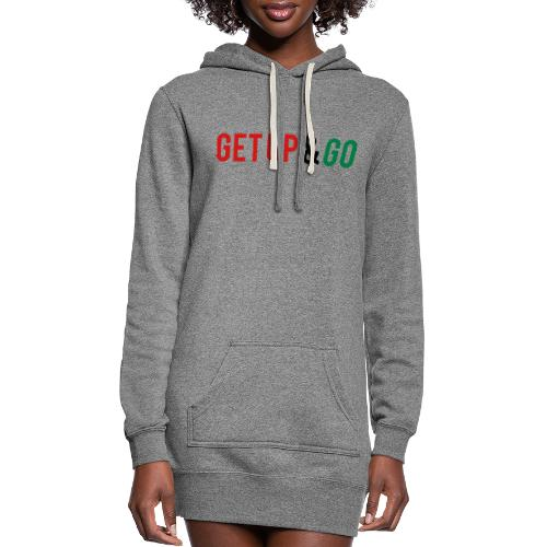 Get Up and Go - Women's Hoodie Dress