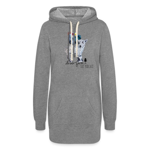 Drink & Farm Logo - Women's Hoodie Dress