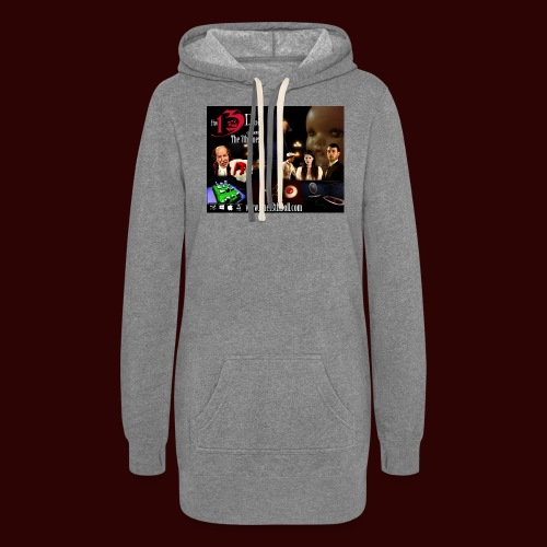 The 13th Doll Cast and Puzzles - Women's Hoodie Dress