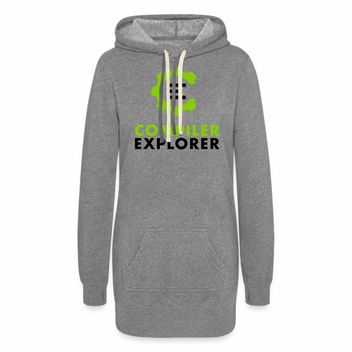 Logo and text - Women's Hoodie Dress