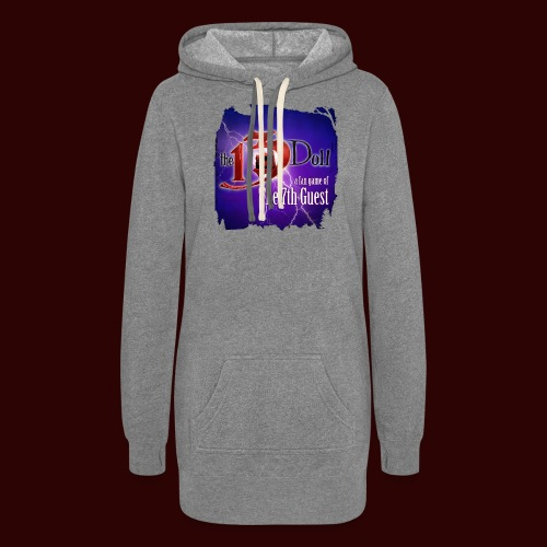 The 13th Doll Logo With Lightning - Women's Hoodie Dress