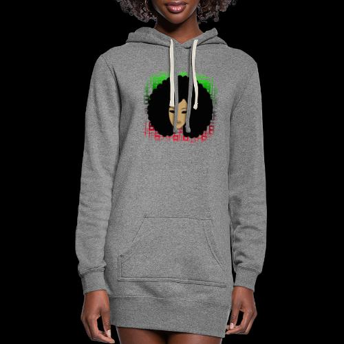 Afromatrix - Women's Hoodie Dress