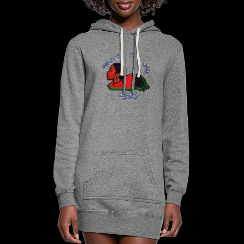 Around The Way Girl - Women's Hoodie Dress