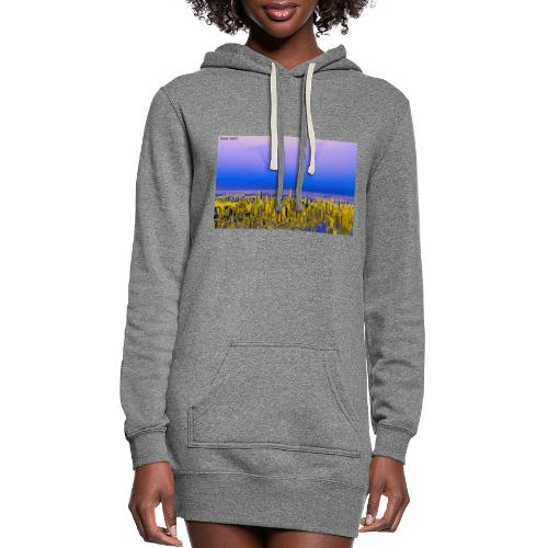 ALL I EVER WANTED WAS THE WORLD - Women's Hoodie Dress