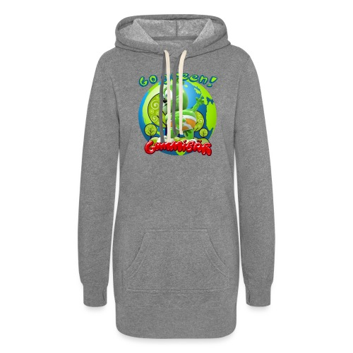 Gummibär Go Green Earth Day Earth - Women's Hoodie Dress