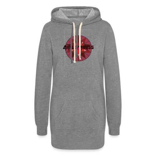 Axelofabyss shades of red - Women's Hoodie Dress