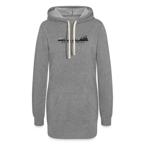 New York: Never Forget - Women's Hoodie Dress