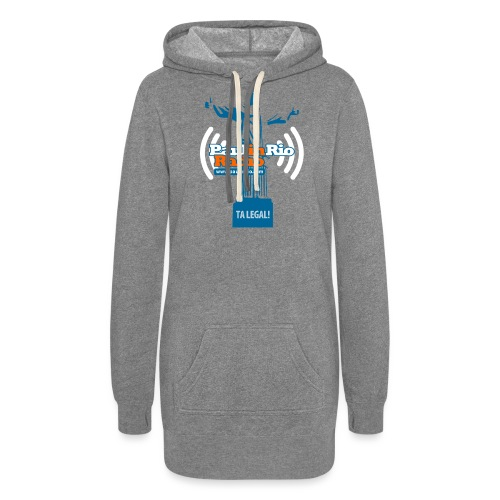 Paul in Rio Radio - The Thumbs up Corcovado #2 - Women's Hoodie Dress