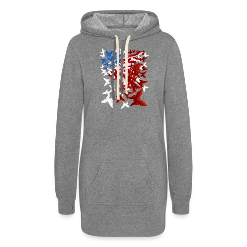 The Butterfly Flag - Women's Hoodie Dress