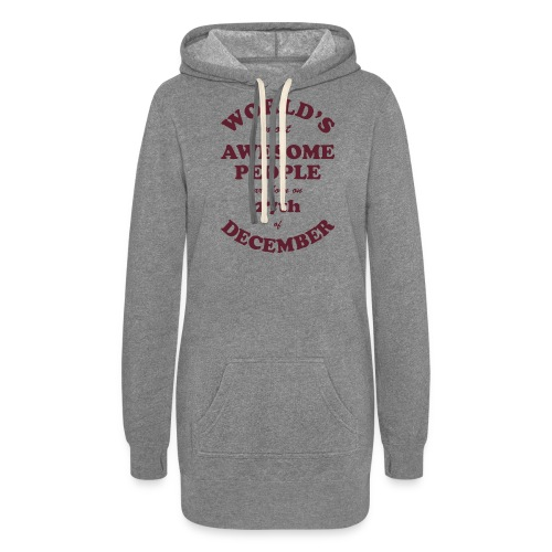 Most Awesome People are born on 27th of December - Women's Hoodie Dress