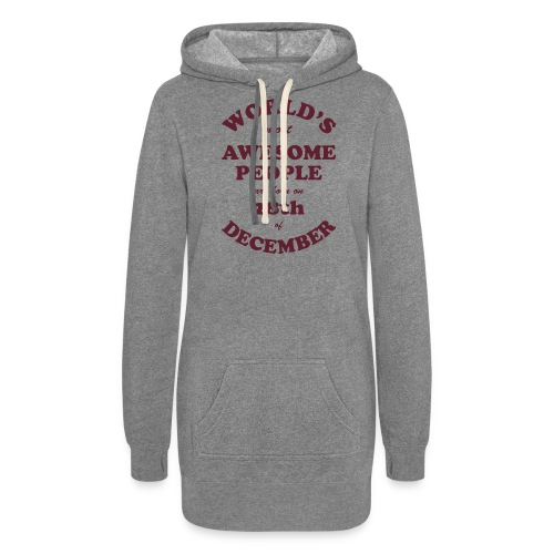 Most Awesome People are born on 28th of December - Women's Hoodie Dress