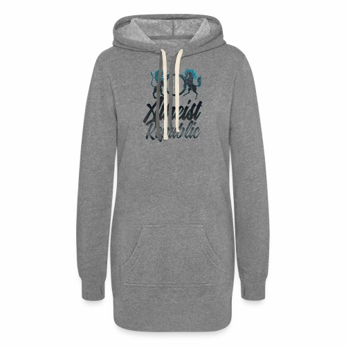 Atheist Republic Italics - Women's Hoodie Dress
