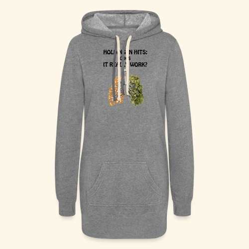 Holding in hits: does it really work? - Women's Hoodie Dress