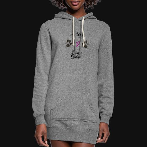 Adopt, don't shop! - Women's Hoodie Dress