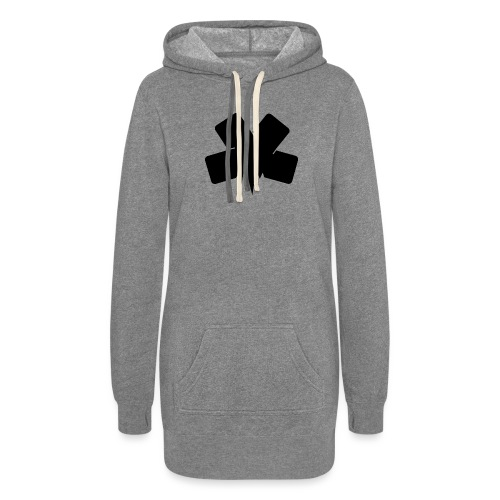 PixelSashay - Black Logo - Women's Hoodie Dress