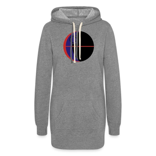 This Is Not A Moon - Women's Hoodie Dress