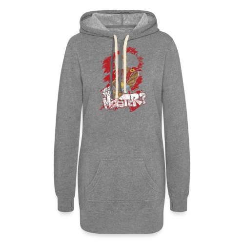 Who's The Master? - Women's Hoodie Dress