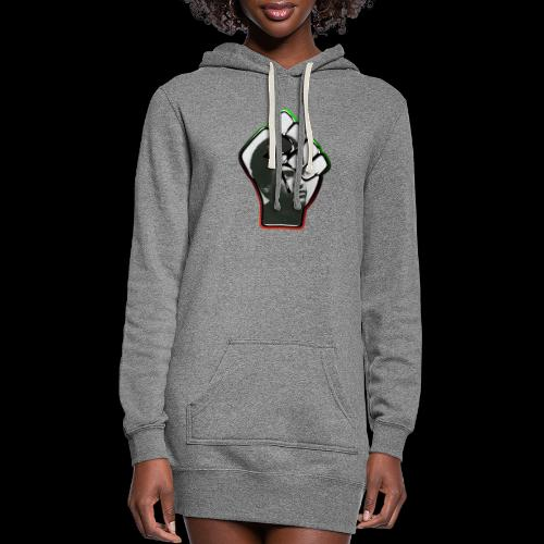 Huey Newton RBG Fist - Women's Hoodie Dress