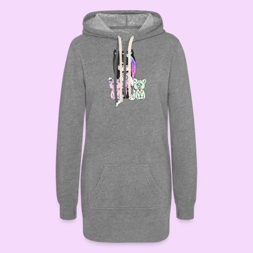 Lolipup Family! - Women's Hoodie Dress
