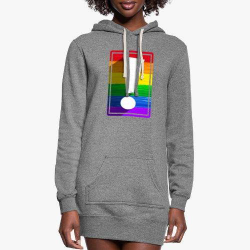 LGBTQ Pride Exclamation Point - Women's Hoodie Dress