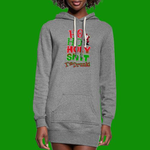 Ho Ho Holy Drunk - Women's Hoodie Dress
