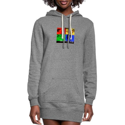 The Doll Life Collage - Women's Hoodie Dress